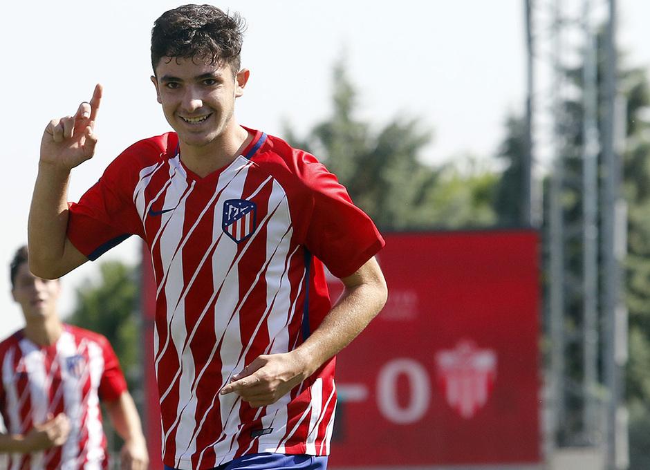 Temporada 16/17 | Atlético B - Cerceda | Gol de Rubén Fernández