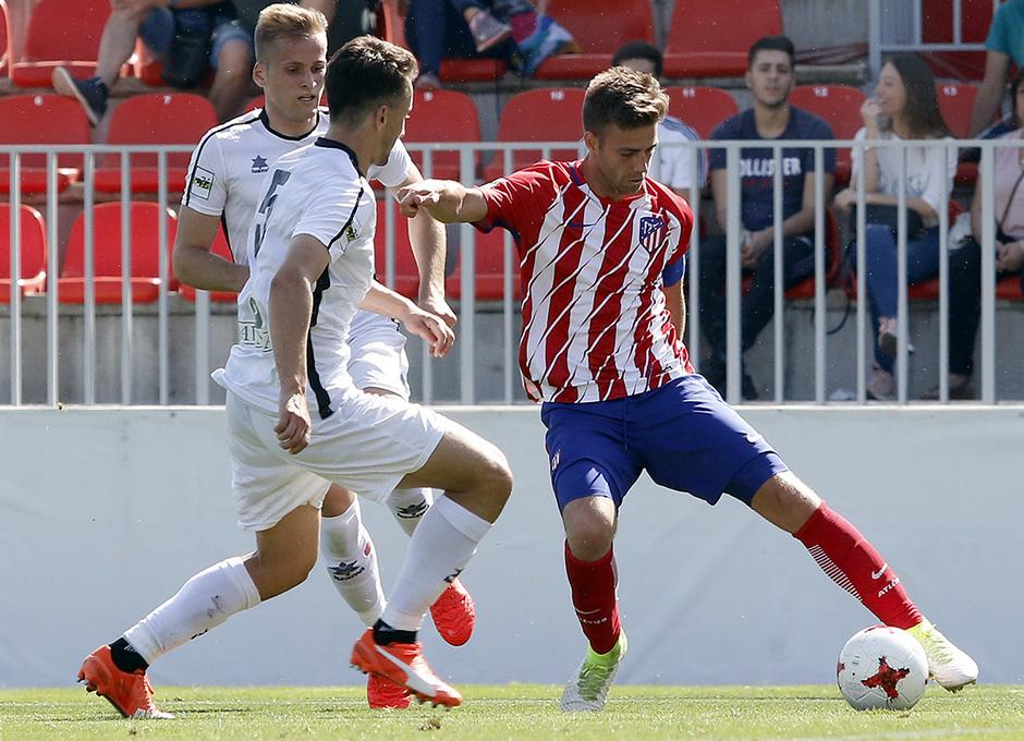 Temporada 16/17 | Atlético B - Cerceda | Sergi
