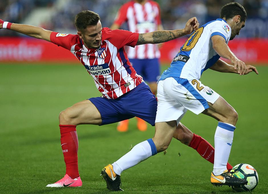 Temp. 17-18 | Leganés - Atlético de Madrid | Saúl