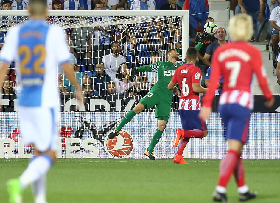 Temp. 17-18 | Leganés - Atlético de Madrid | Oblak