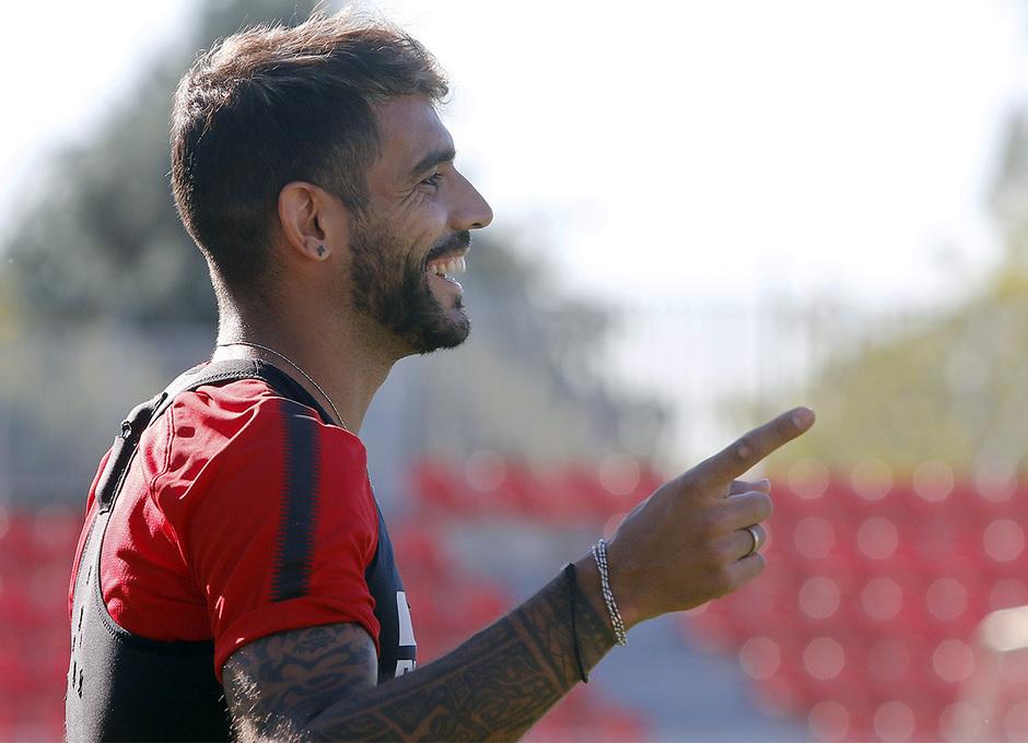 Temporada 17/18 | 03/10/2017 | Entrenamiento en la Ciudad Deportiva Wanda | Augusto