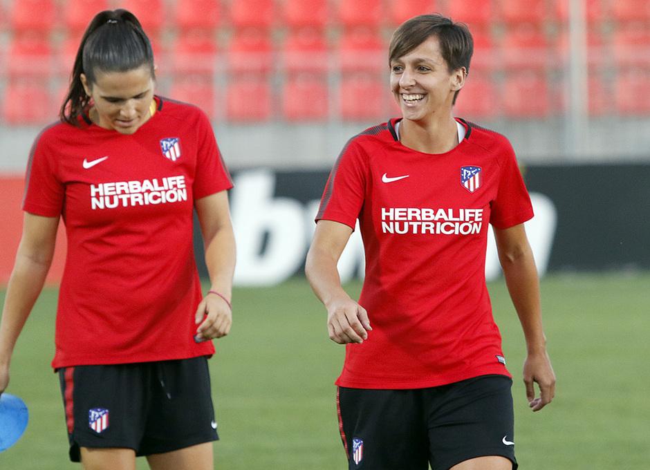 Temporada 17/18 | Femenino | 03/10/2017 | Entrenamiento en la Ciudad Deportiva Wanda | Corredera