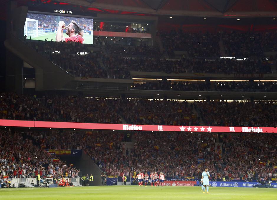 Temp. 17-18 | Atlético de Madrid - FC Barcelona | Afición