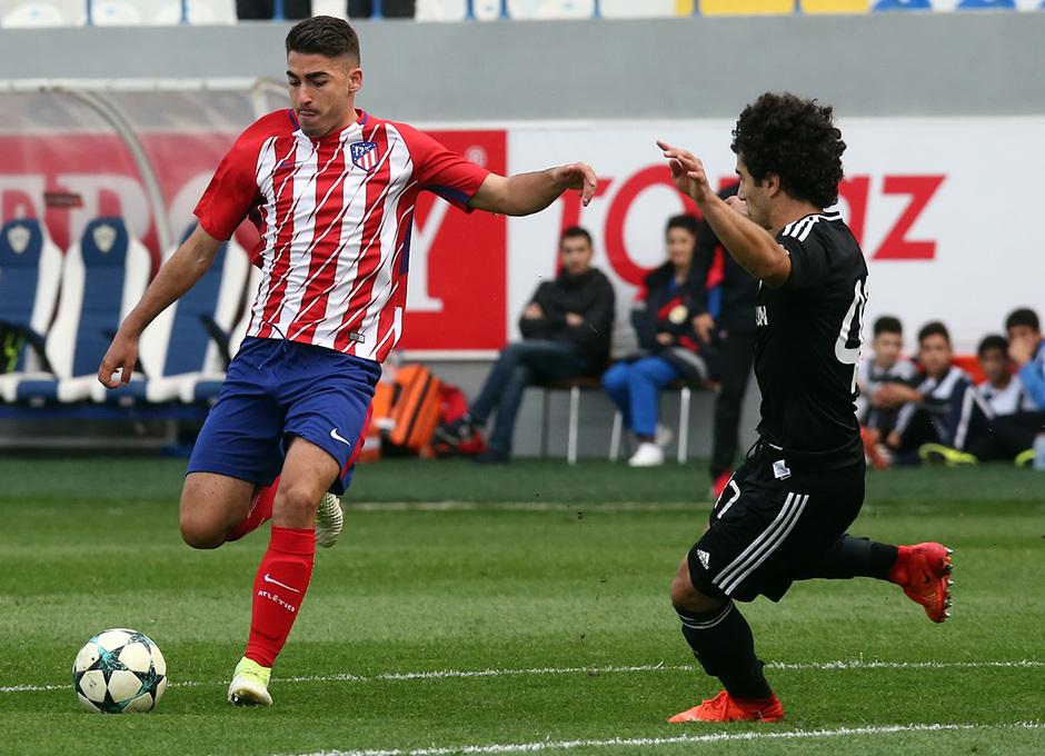 Temp. 17/18 | Youth League | Qarabag - Atlético de Madrid Juvenil A | Toni Moya