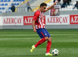 Temp. 17/18   Youth League   Qarabag - Atlético de Madrid Juvenil A   Carlos Isaac