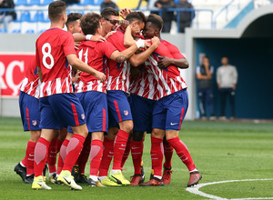 Temp. 17/18   Youth League   Qarabag - Atlético de Madrid Juvenil A   Celebración