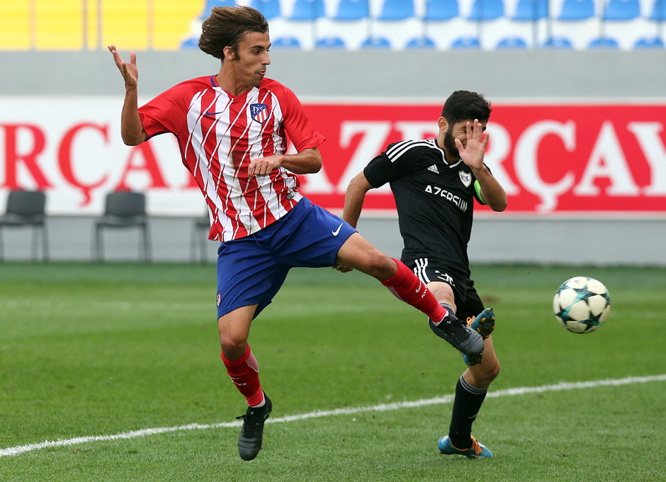 Temp. 17/18 | Youth League | Qarabag - Atlético de Madrid Juvenil A | Clemente