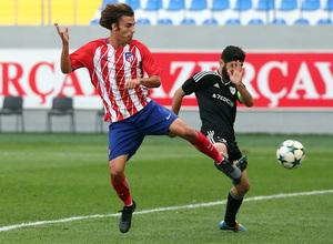Temp. 17/18   Youth League   Qarabag - Atlético de Madrid Juvenil A   Clemente