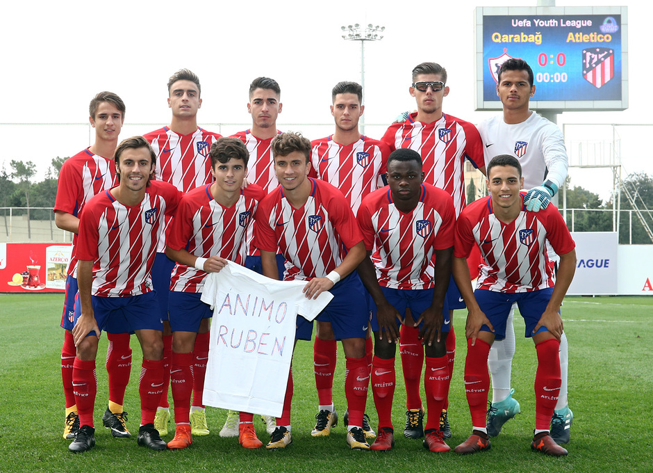 Temp. 17/18 | Youth League | Qarabag - Atlético de Madrid Juvenil A | Once