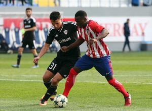 Temp. 17/18   Youth League   Qarabag - Atlético de Madrid Juvenil A   Salomón Obama