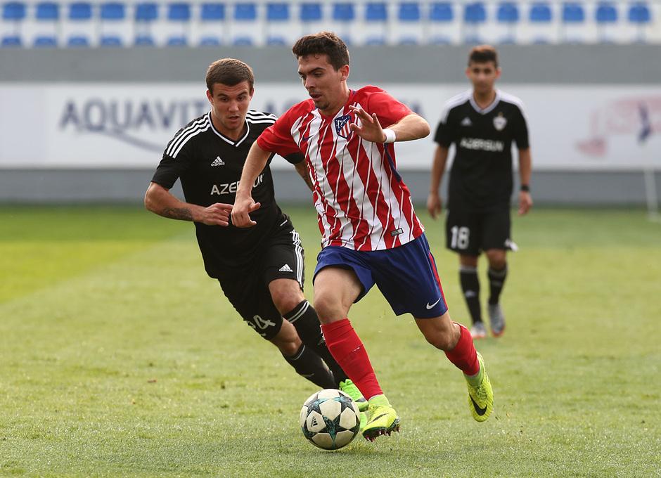 Temp. 17/18 | Youth League | Qarabag - Atlético de Madrid Juvenil A | Joaquín