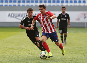 Temp. 17/18   Youth League   Qarabag - Atlético de Madrid Juvenil A   Joaquín