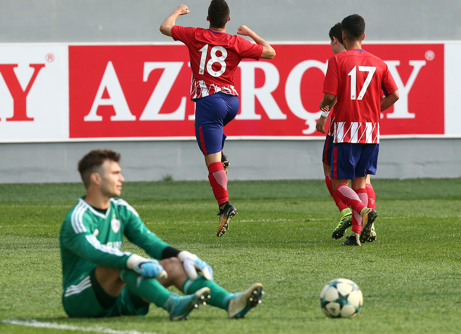 Temp. 17/18 | Youth League | Qarabag - Atlético de Madrid Juvenil A | Salido