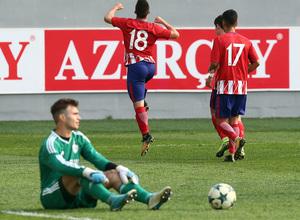 Temp. 17/18   Youth League   Qarabag - Atlético de Madrid Juvenil A   Salido