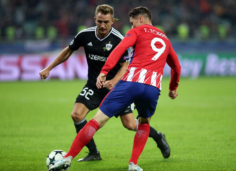 Temp. 17/18 | Qarabag - Atlético de Madrid | Torres