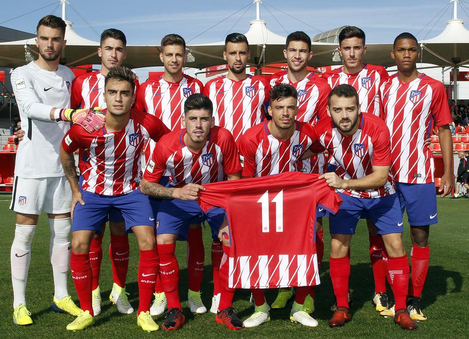 Temp. 17-18 | Atlético de Madrid B - Racing de Ferrol | Once