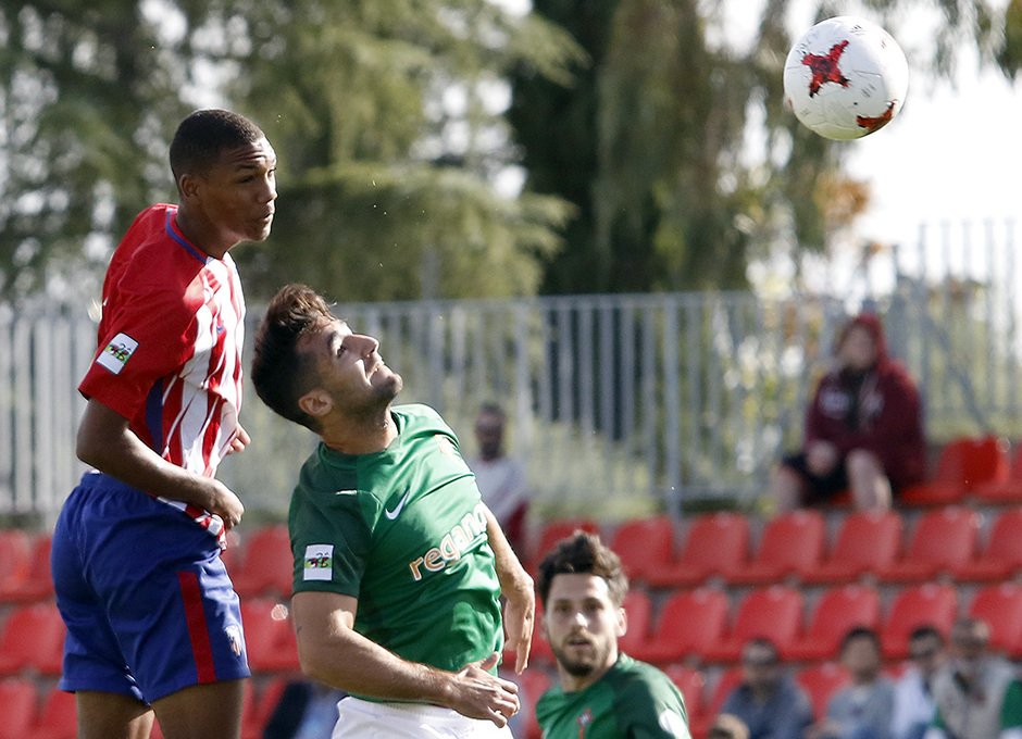Temp. 17-18 | Atlético de Madrid B - Racing de Ferrol | Manny
