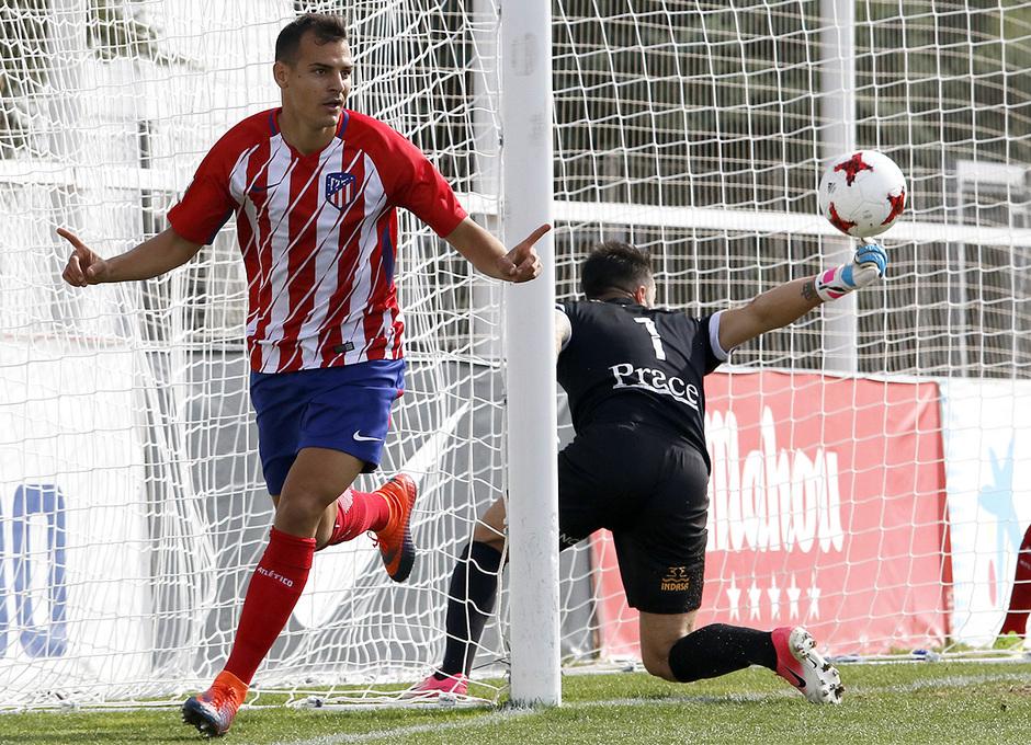 Temp. 17-18 | Atlético de Madrid B - Racing de Ferrol | Perales