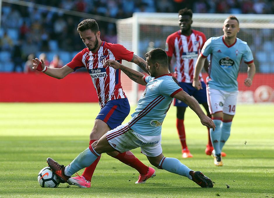 Temp. 17-18 | Celta - Atlético de Madrid | Saúl