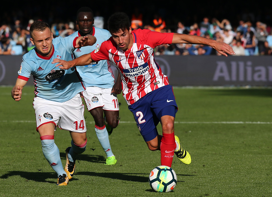 Temp. 17-18 | Celta - Atlético de Madrid | Gaitán