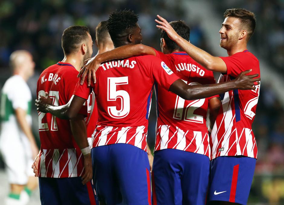Temp. 17-18 | Elche-Atlético de Madrid | Piña