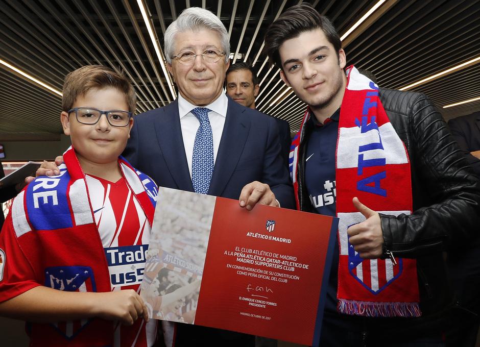 Día de las peñas - Peña Atlética Qatar - Atlético de Madrid Supporters Club
