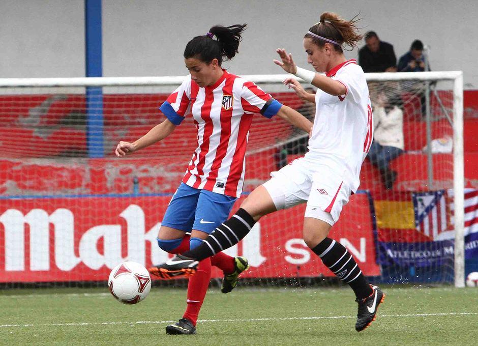 Temporada 2012-2013. Marieta durante el partido ante el Sevilla F.C.