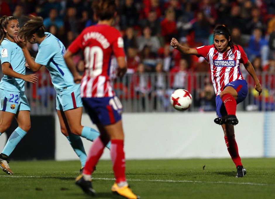 Temp. 17-18 | Atlético de Madrid Femenino - FC Barcelona | Kenti gol