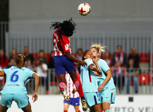Temp. 17-18 | Atlético de Madrid Femenino - FC Barcelona | Ludmila