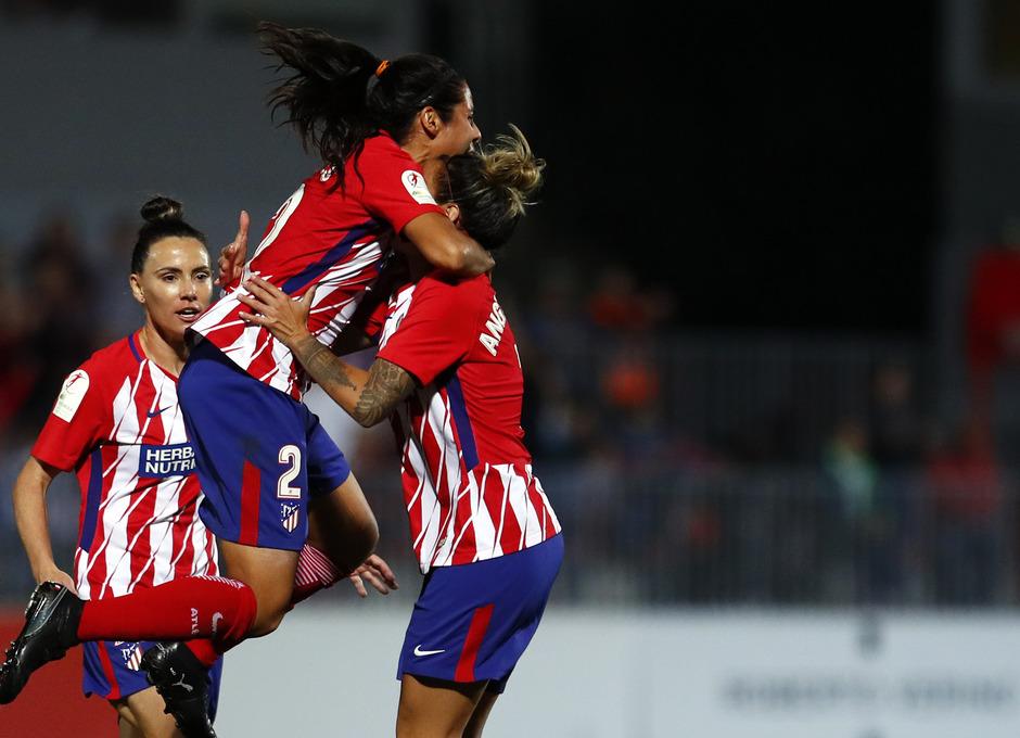 temp. 17-18. Atlético de Madrid Femenino-FC Barcelona. La otra mirada. Kenti Robles