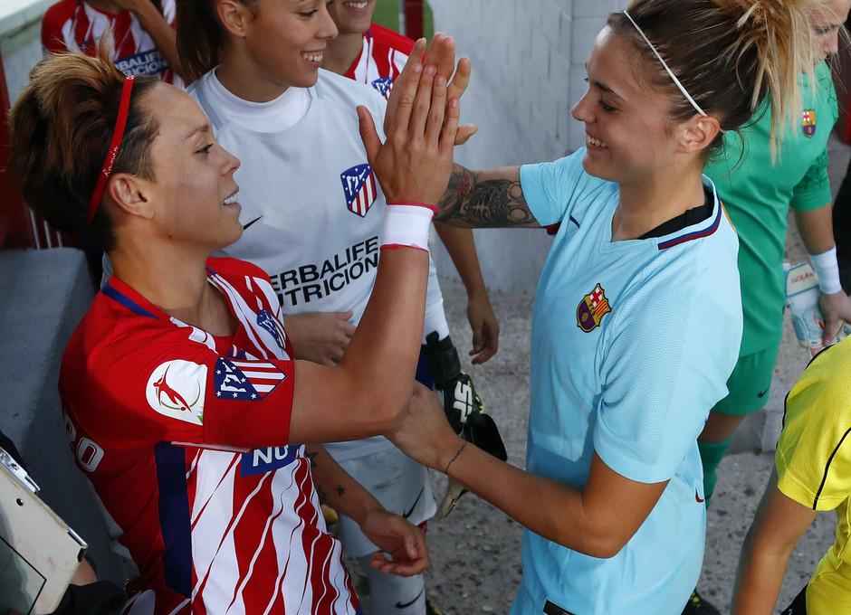temp. 17-18. Atlético de Madrid Femenino-FC Barcelona. La otra mirada. Amanda