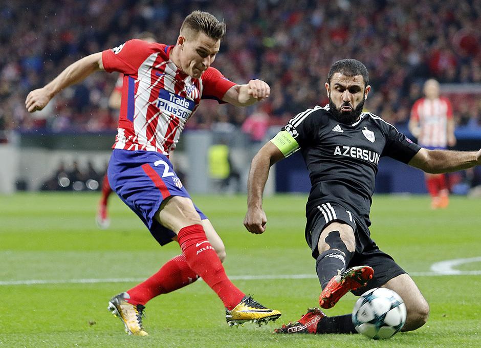 Temp. 17/18 | Atlético de Madrid - Qarabag | Gameiro