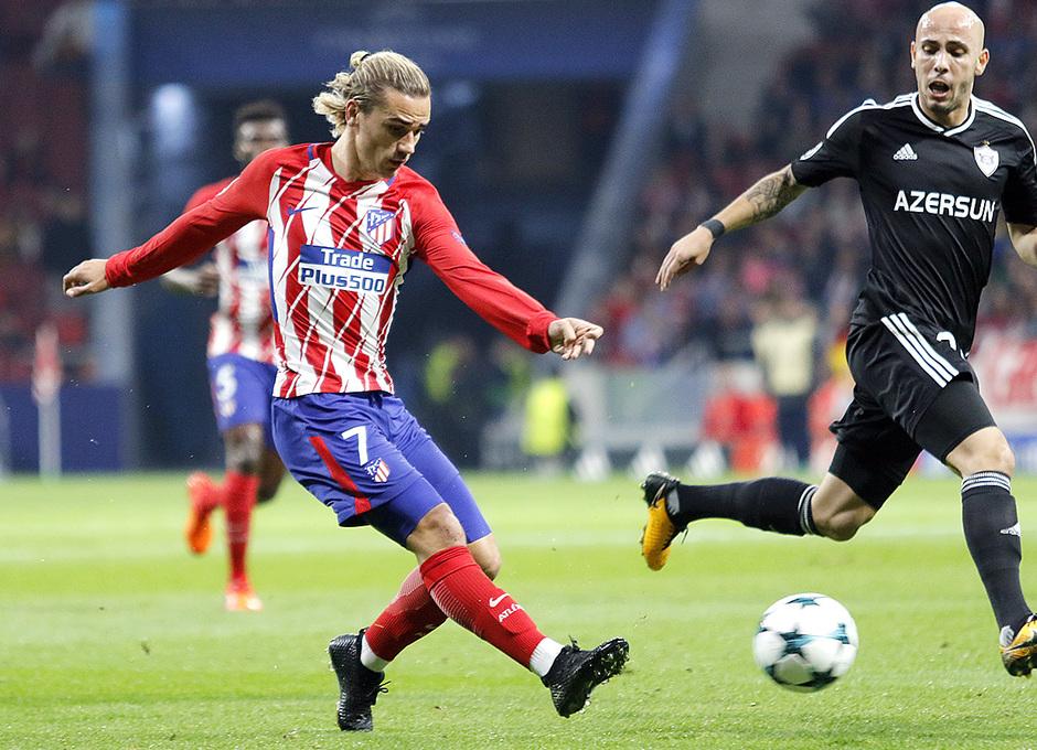 Temp. 17/18 | Atlético de Madrid - Qarabag | Griezmann