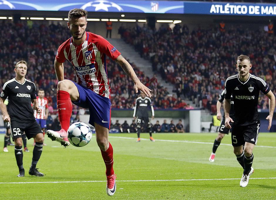 Temp. 17/18 | Atlético de Madrid - Qarabag | Saúl