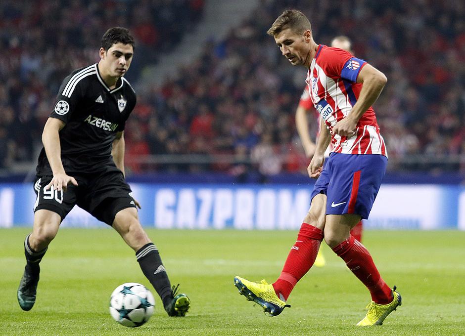 Temp. 17/18 | Atlético de Madrid - Qarabag | Gabi