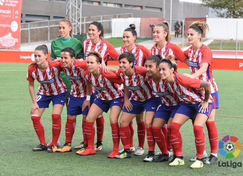 temp. 17-18. Madrid CFF - Atlético de Madrid Femenino | Once
