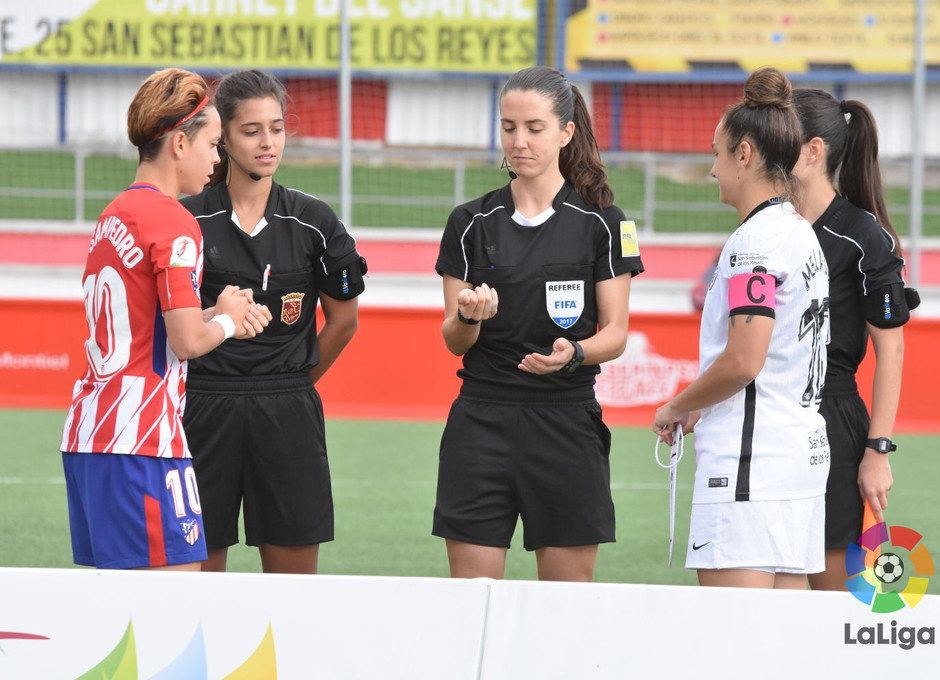 temp. 17-18. Madrid CFF - Atlético de Madrid Femenino | Capitanas