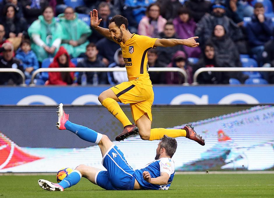 Temp. 17-18 | Deportivo - Atlético de Madrid | Juanfran