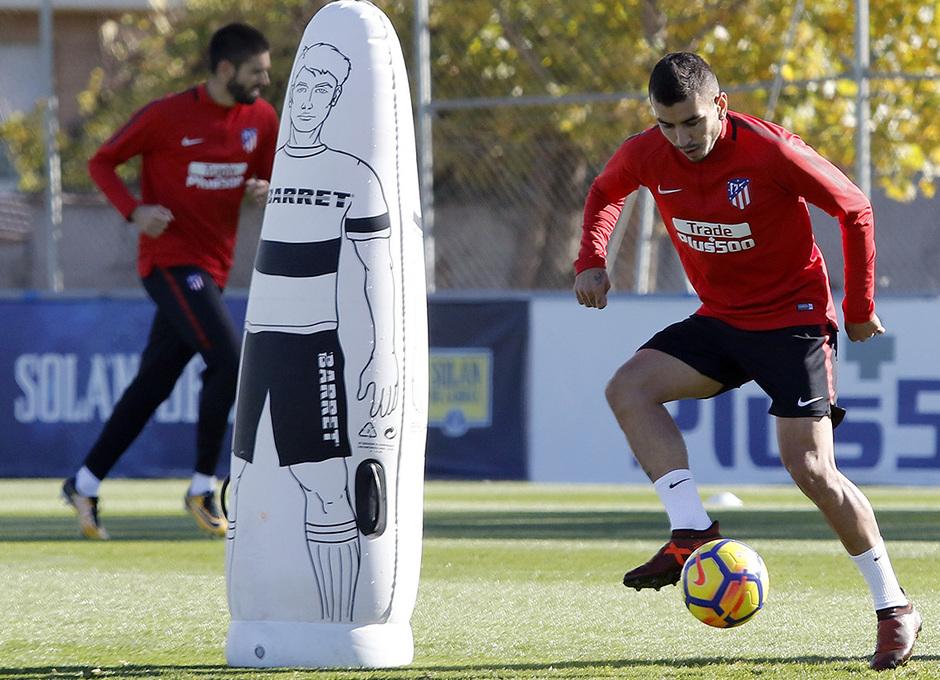 Temp. 17-18 | Entrenamiento en la Ciudad Deportiva. 09/11/2017 | Correa