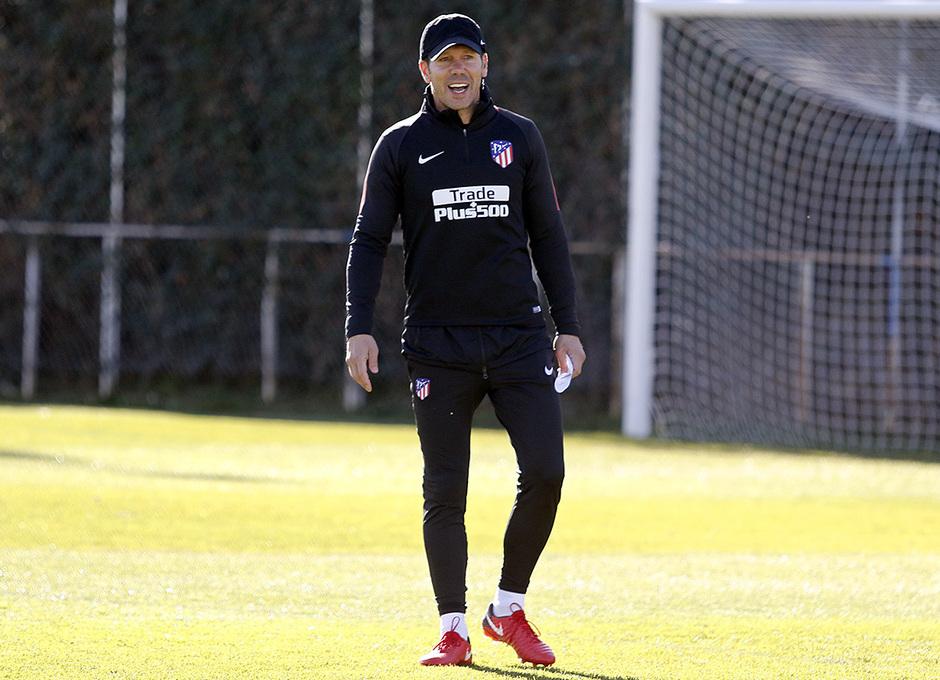 Temp. 17-18 | Entrenamiento en la Ciudad Deportiva. 09/11/2017 | Simeone