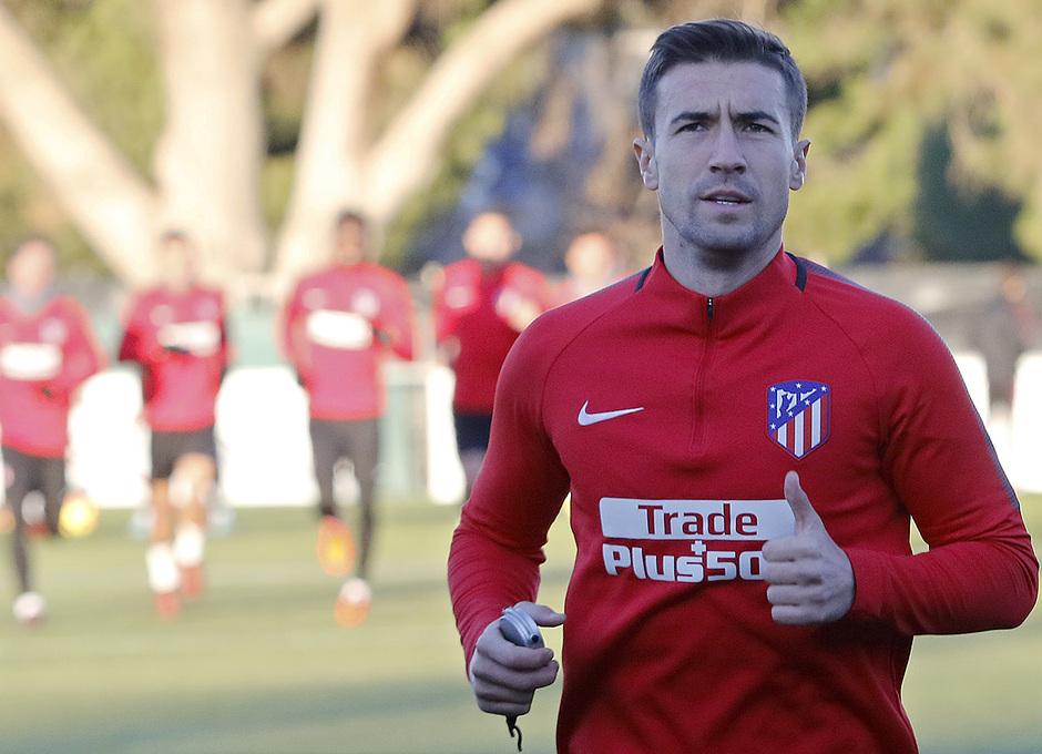 Temporada 17/18 | 13/11/2017 | Entrenamiento en la Ciudad Deportiva Wanda | Gabi