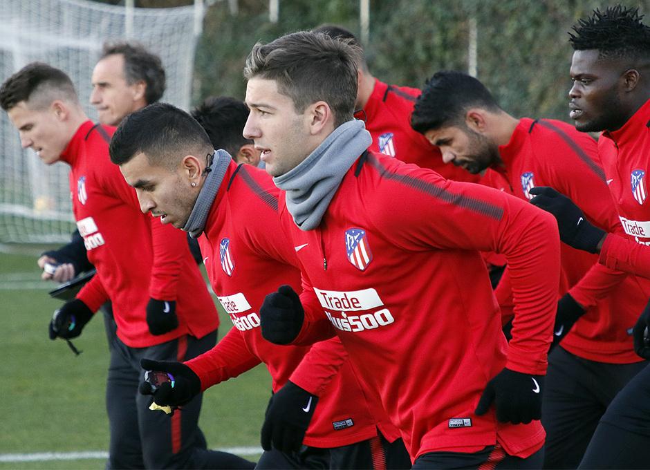Temporada 17/18 | 13/11/2017 | Entrenamiento en la Ciudad Deportiva Wanda | Vietto