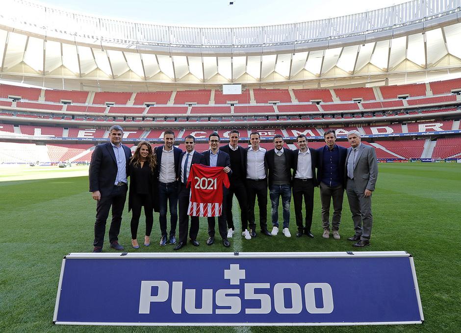 Plus500, Koke, Gabi y Fernando Torres