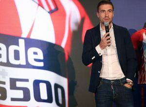 temporada 17/18. Acto en el Wanda Metropolitano Plus 500.
