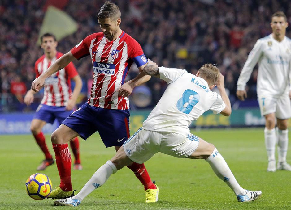Temp. 17-18 | Atlético de Madrid - Real Madrid | Gabi