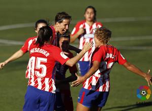 Temp. 17-18 | Betis-Atlético de Madrid Femenino | Celebración