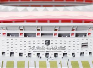 Maqueta del exterior del Nuevo Estadio