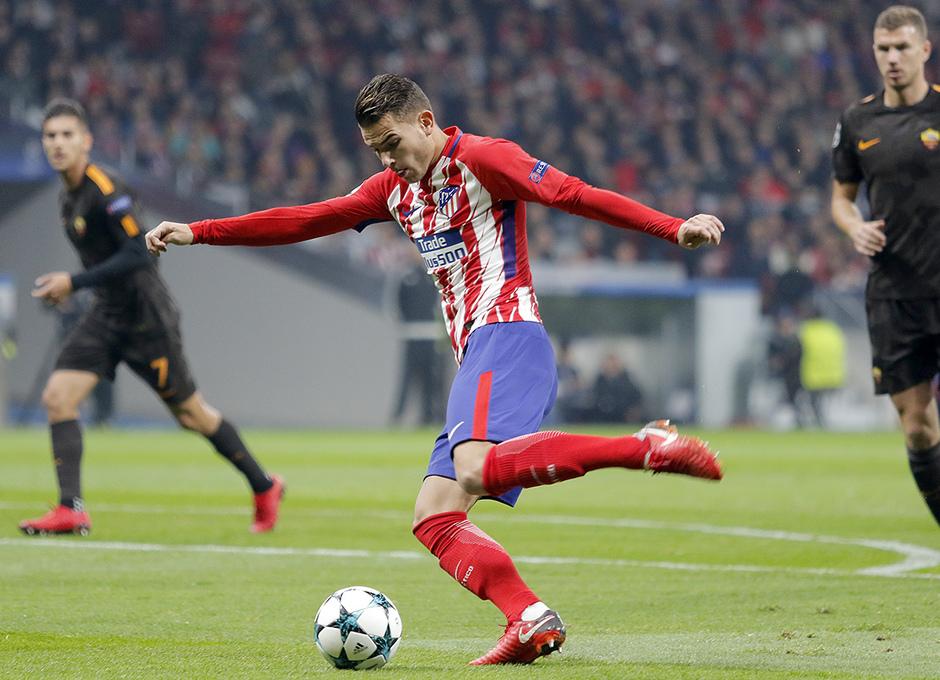 Temp. 17/18 | Atlético de Madrid - Roma | Lucas