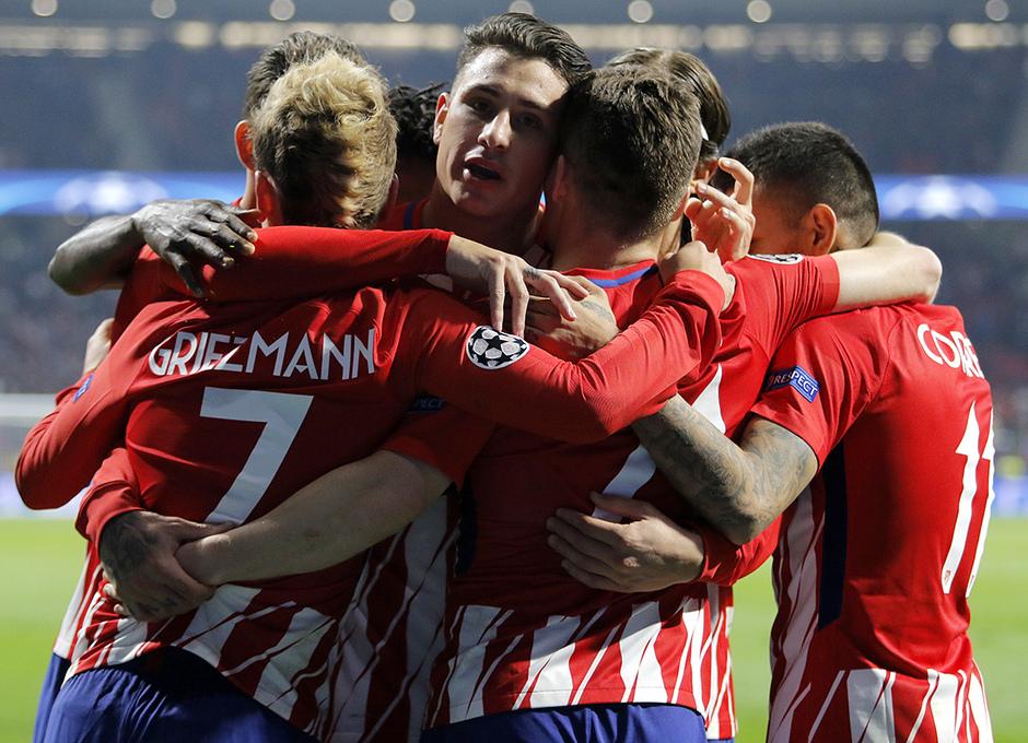 Temp. 17/18 | Atlético de Madrid - Roma | Celebración