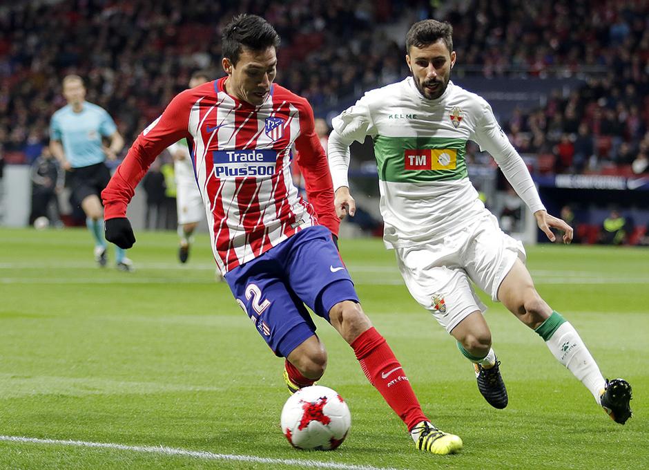 Temp. 17-18 | Atlético de Madrid - Elche | Gaitán